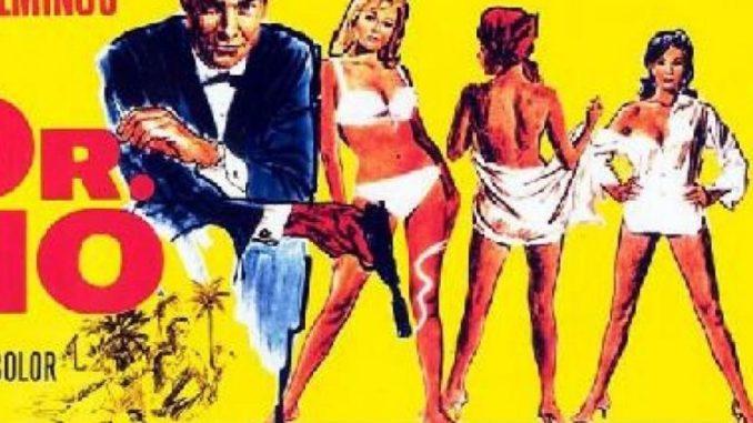 Dr. No et James Bond affiche du premier film sorti
